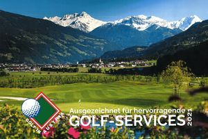 Award for Outstanding Golf Services | Golf in Austria